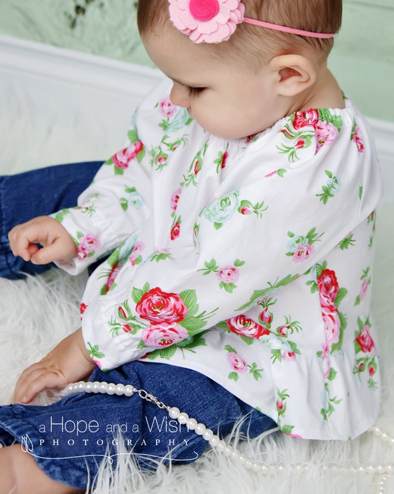 Peasant Blouse Pattern Baby 71