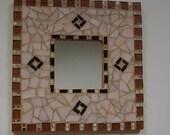 Beautiful Mosaic Wall Mirror