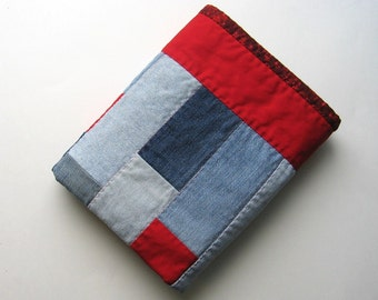 BlueJeanBaby Cuddle Quilt, Red