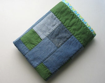 BlueJean Baby Cuddle Quilt, Green