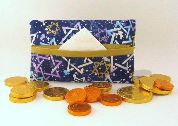 Star of David Tissue Holder