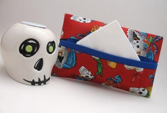 Day of the Dead Tissue Holder