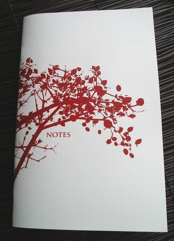 Red Berry Branch Notebook