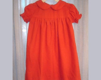 Dress Red Classic Christmas Dress 12 months