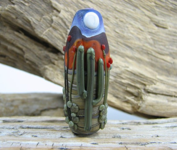Sonoran Desert Bead or Pendant