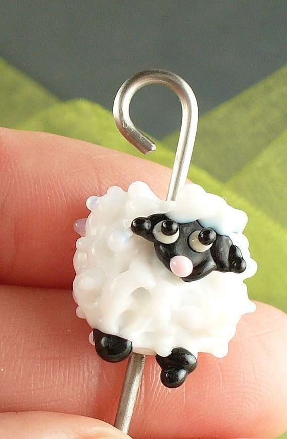 Lampwork Orifice Hook for Spinning by Catalina Glass