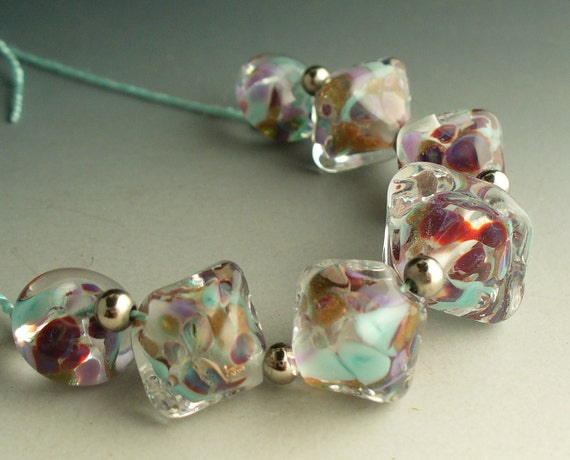 Goldstone Crystal Set by Catalina Glass