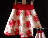 Design Your Own -- PoppyDreams Reversible Skirt -- Custom Boutique -- 2T 3T 4T 5 6 6x