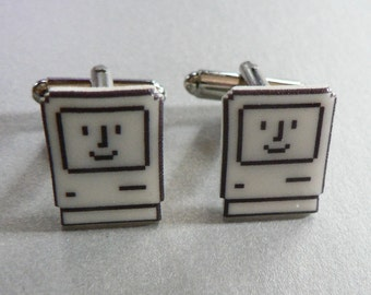 mac daddy - apple cufflinks