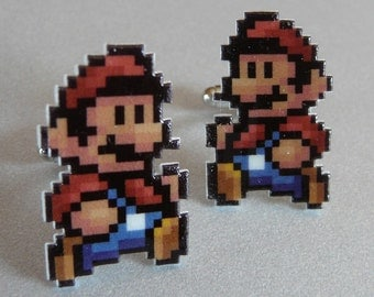 It's-a me - super mario 3 cufflinks