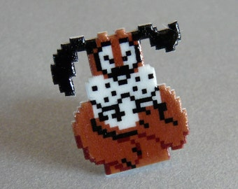man's best friend - duck hunt pin