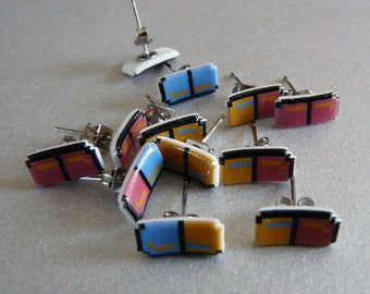 beyond the valley of the pixels - dr. mario earrings