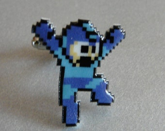 might as well jump - mega man pin