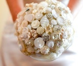 The Diamonds and Pearls Button Bouquet