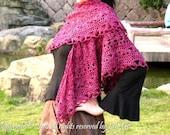 Cassandra Crocheted Shawl in PDF File