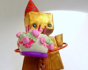 Little Robot Baked You a Birthday Cake