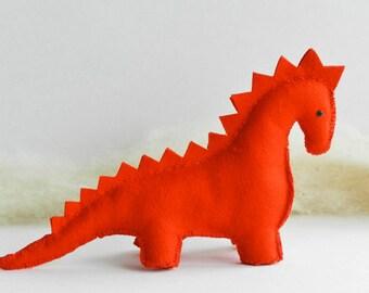 Handmade Dinosaur and Dragon Pattern - pdf Instructions - Immediate Download - Handwork Sudio