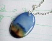 ON SALE - Shady Reverie Necklace - An original photographic pendant