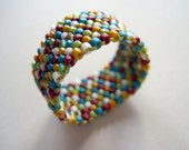 Polka Dot Colorfull Ring