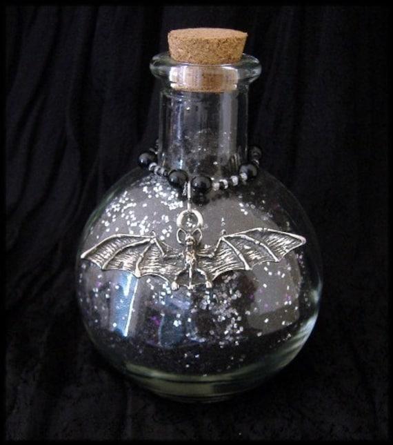 Midnight Moon Dust Charmed Bat Bottle