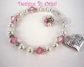 Swarovski Pearl & Crystal Big Sister bracelet