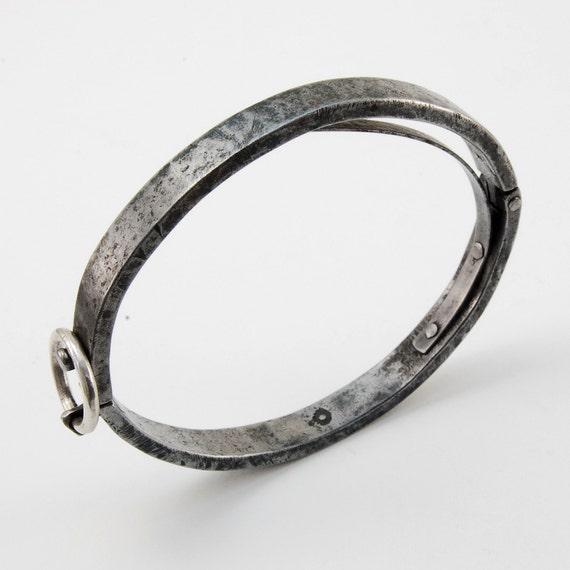 Fool Spring Bracelet - iron, silver