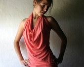 Jersey halter top -Made to order in custom color