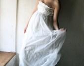Silk Chiffon Wedding dress - RESERVED
