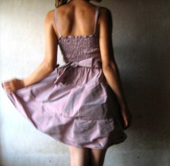Lavander Tiered dress -Made to order