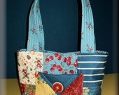 Handmade Quilted Mini Charmer Hand Bag