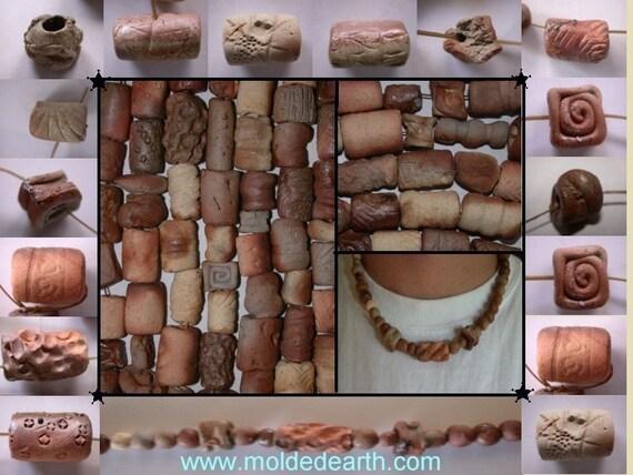 20 Wood Fired Beads