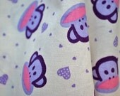 Paul Frank Monkey \/cute fabric