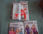 SALE 2 Fast N Easy Patterns PLUS Sewing Destash Items