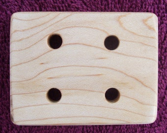 Handspinners Maple Plying Template