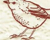 Robin Stitchery Pattern