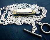 Play Music Mini Harmonica Necklace