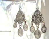 Bollywood Silver Earrings