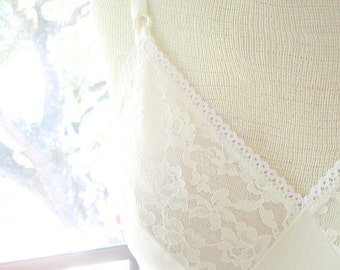 Vintage Lace Slip Dress - Sears - Size 34