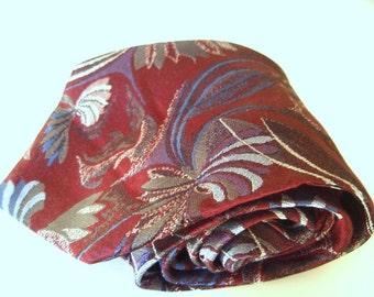 Vintage Italian Silk Neck Tie