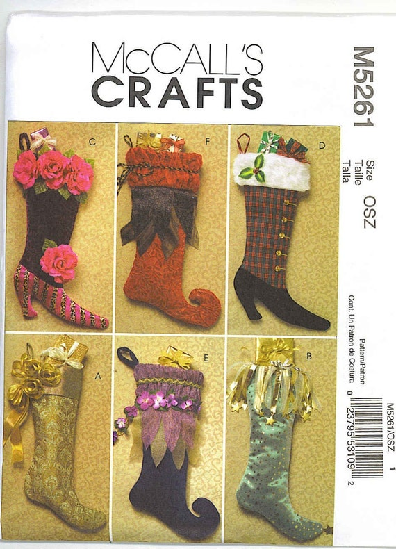 McCall's Christmas Stocking Patterns