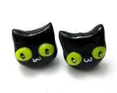 Black Cat Studs
