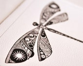 Dragonfly Dreams - blank note card