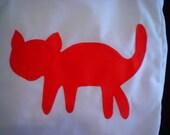 Red Cat Tote