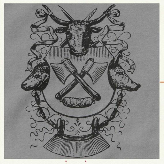 The Butcher t-shirt delicatessen chef meat Unisex size Medium