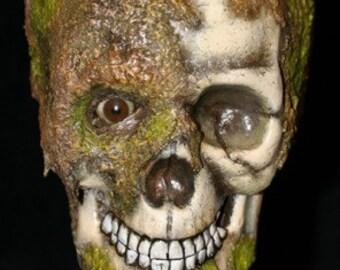 Bog Zombie mounted head trophy