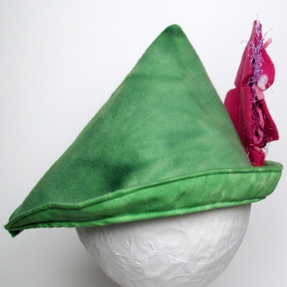 Robin Hood Hat - Hot Pink (SMALL) (WOW073112-4)