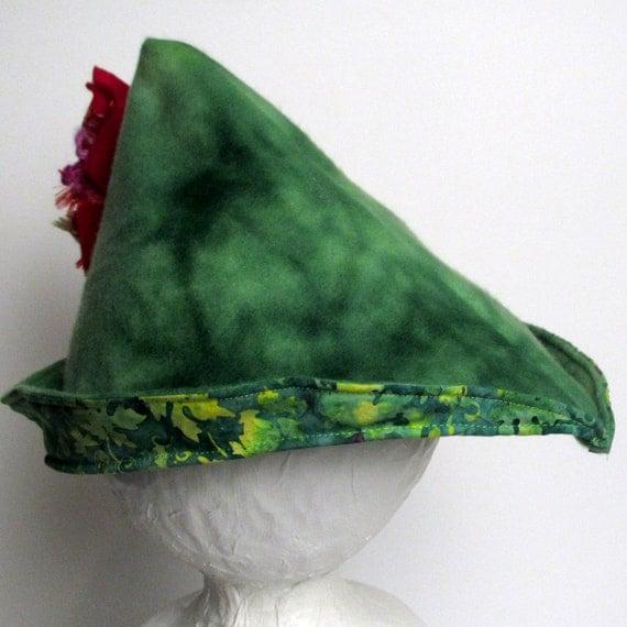 Robin Hood Hat - Red (MEDIUM) (WOW030212-3R)