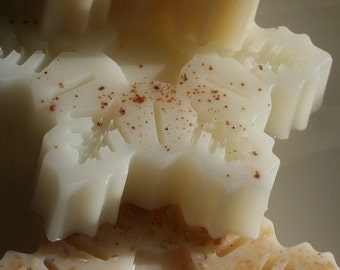 Snowflake 3 Soaps Natural Collection