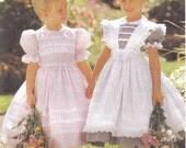 Girls Patterns Dress and Pinafore McCalls 8697 All three Patterns sizes UnCut sizes (2-8)