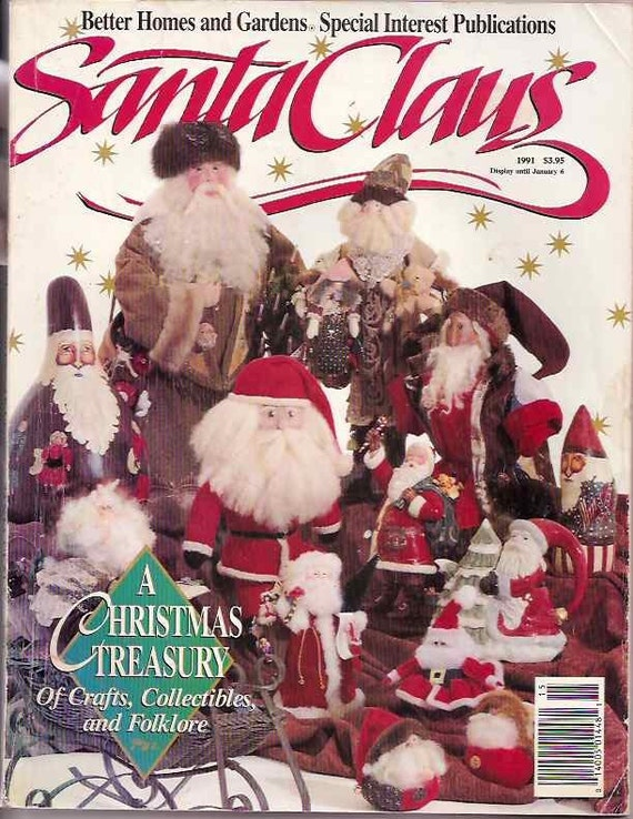 Items Similar To Santa Claus Better Homes And Gardens